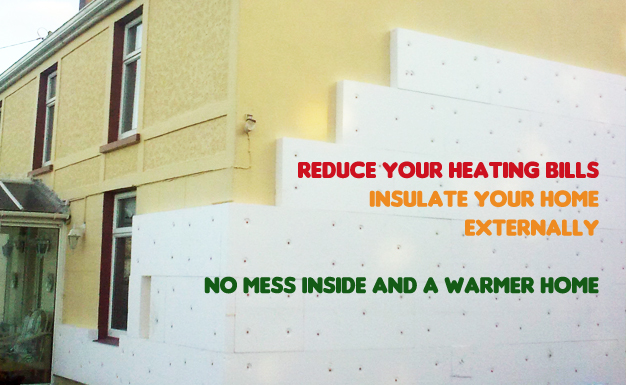 External insulation cork from grainger energy solutions - Cork insulation home ...